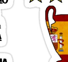 Real Madrid 2014 Champions League Winners Sticker