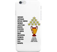 Real Madrid 2014 Champions League Winners iPhone Case/Skin