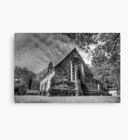 The Church at Balquhidder, Canvas Print