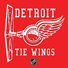 Detroit Tie Wings by Antatomic