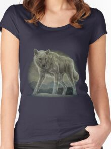 Snow Wolf Women's Fitted Scoop T-Shirt