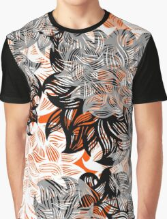 floral abstraction Graphic T-Shirt