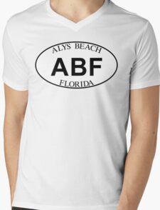 ALYS BEACH FLORIDA EURO OVAL Mens V-Neck T-Shirt