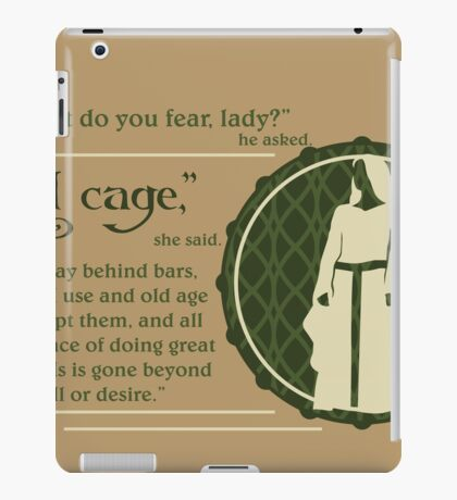 A Cage iPad Case/Skin