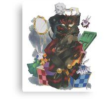 Pandora Hearts - Break & Cheshire Canvas Print