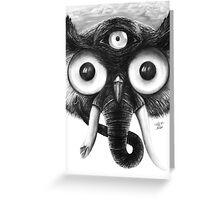 The Owlephant Greeting Card