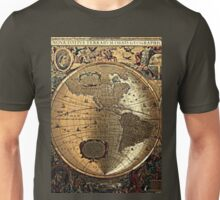 Old Map Unisex T-Shirt