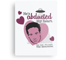 David Duchovny, why don't you love me? Metal Print