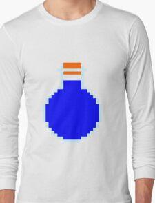 Mana potion (pixel art) Long Sleeve T-Shirt