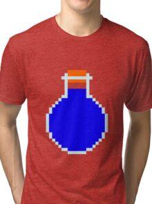 Mana potion (pixel art) Tri-blend T-Shirt