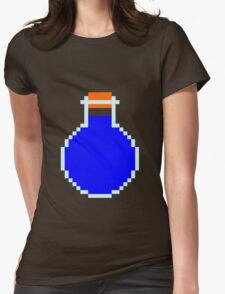 Mana potion (pixel art) Womens Fitted T-Shirt