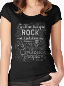 Civilized People Women's Fitted Scoop T-Shirt