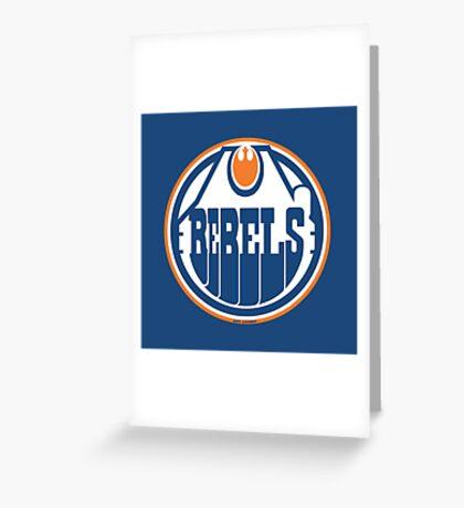Edmonton Rebels Greeting Card
