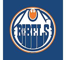Edmonton Rebels Photographic Print