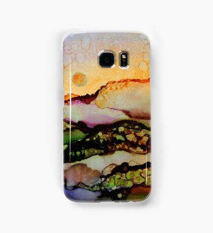 """""""Molten Mountain Dreams"""" - Colorful Unique Original Artist's Landscape! Samsung Galaxy Case/Skin"""