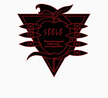 black red logo seele Unisex T-Shirt