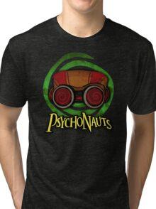 PSYCHONAUTS RAZ (GREEN) Tri-blend T-Shirt