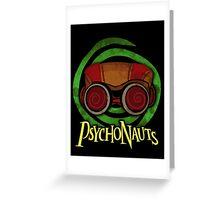 PSYCHONAUTS RAZ (GREEN) Greeting Card