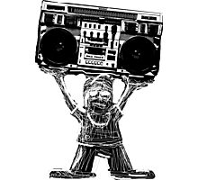 Boombox B-Boy Photographic Print
