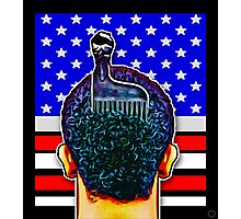 """BLACK POWER & AFRO PICKS"" Photographic Print"