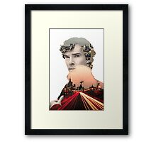 I need to get to know London again, breathe it in, every quiver of its beating heart. Framed Print