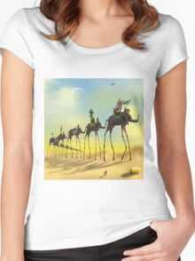On The Move SQ Women's Fitted Scoop T-Shirt