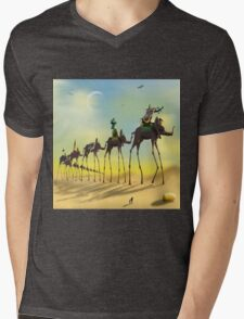 On The Move SQ Mens V-Neck T-Shirt
