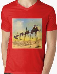 On The Move SQ Mens V-Neck T-Shirt
