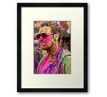 Psychedelic Days Return! Framed Print