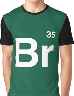 Br 35 -Breaking Bad Periodic Graphic T-Shirt