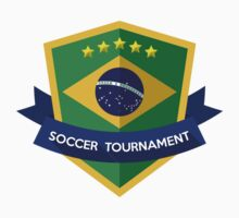 Creative soccer brazil label One Piece - Long Sleeve