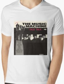 Music Machine Mens V-Neck T-Shirt