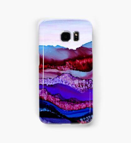 """Blue Mountain Dream"" - Colorful Unique Original Artist's Landscape! Samsung Galaxy Case/Skin"