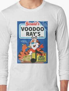 VOODOO RAY'S CEREAL BOX Long Sleeve T-Shirt