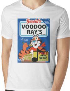 VOODOO RAY'S CEREAL BOX Mens V-Neck T-Shirt