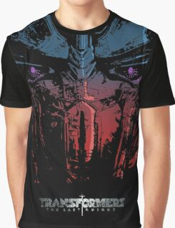 Optimus the last Knight Graphic T-Shirt