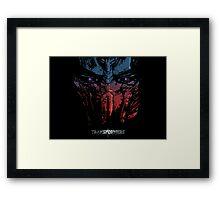 Optimus the last Knight Framed Print