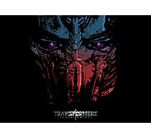 Optimus the last Knight Photographic Print