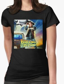 Back to the Island Womens Fitted T-Shirt
