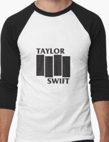 Taylor Swift Black Flag Men's Baseball ¾ T-Shirt