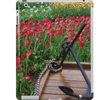 Tulips And Anchor iPad Case/Skin