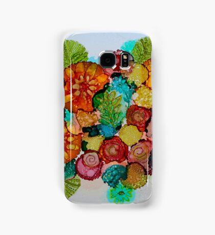 Colorful Unique Original Floral Design! Samsung Galaxy Case/Skin