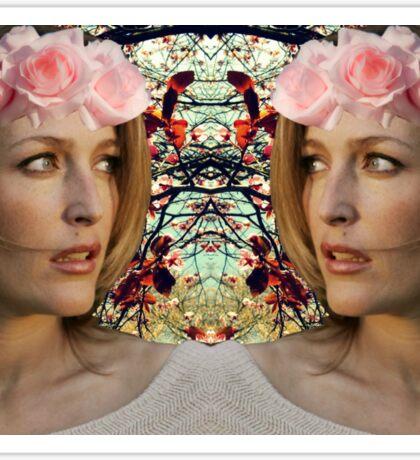 Gillian Anderson Sticker