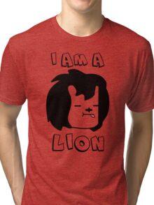 I am a Lion Tri-blend T-Shirt