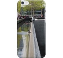 Two Pigeons at Ground Zero iPhone Case/Skin