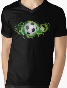 Dynamic football design Mens V-Neck T-Shirt