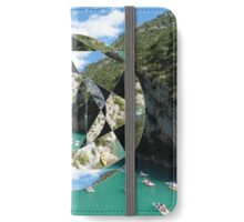 puzzle river iPhone Wallet/Case/Skin