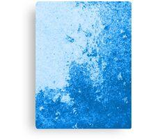 Earth Sweat Design (Snorkel Blue Color) Canvas Print