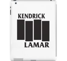 Kendrick Lamar Black Flag iPad Case/Skin