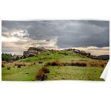 Geological rock formations Poster